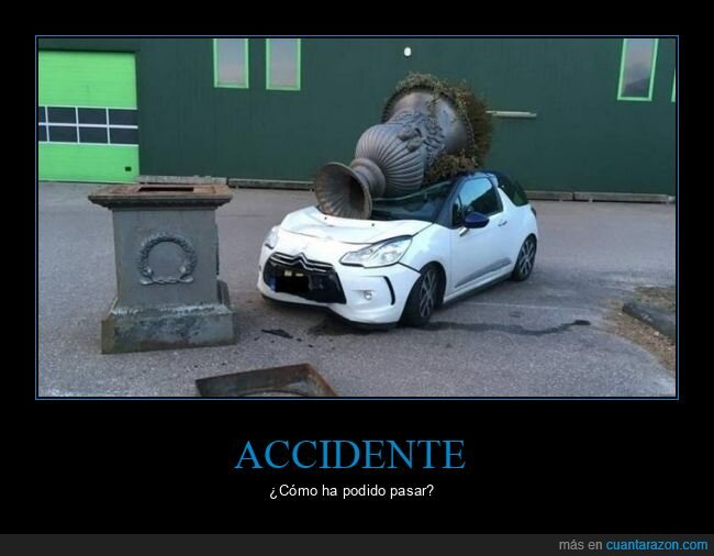 accidente,coche,fails