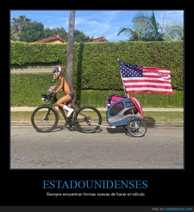 bandera,bicicleta,calzoncillos,eeuu