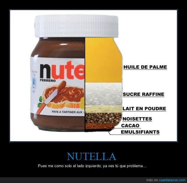 izquierda,nutella