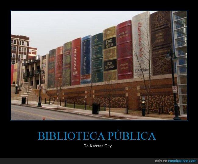 biblioteca,kansas city,libros