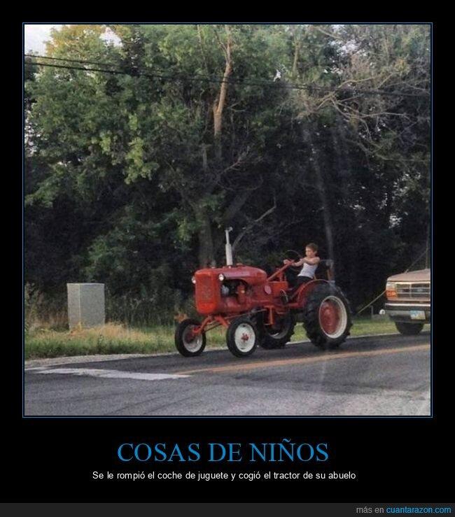 niño,tractor,wtf