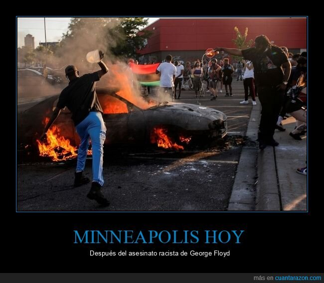 asesinato,disturbios,george floyd,minneapolis,racismo