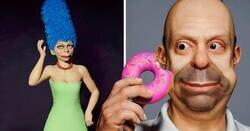 Enlace a Artista recrea los personajes de 'Los Simpson' en 3D y son tan realistas como perturbadores