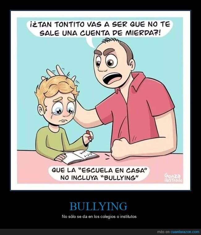 bullying,casa,hijo,padre