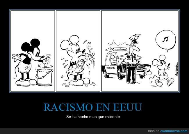 eeuu,mickey mouse,racismo