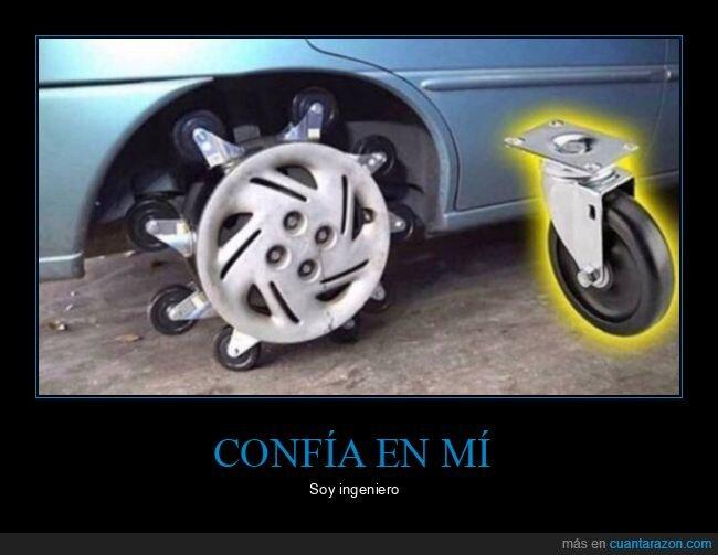 apaño,coche,rueda,ruedas,wtf