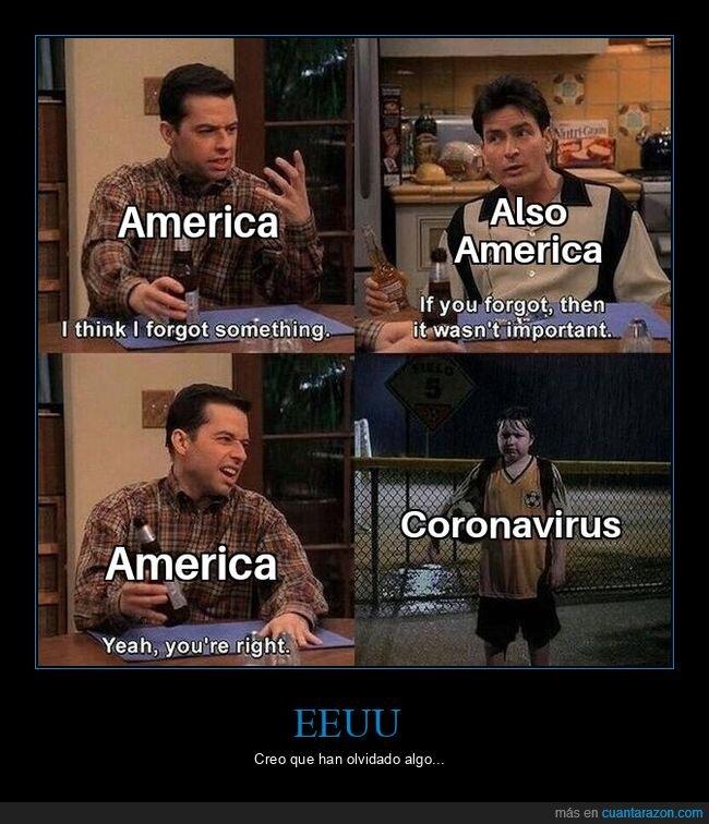 coronavirus,disturbios,dos hombres y medio,eeuu,olvidar