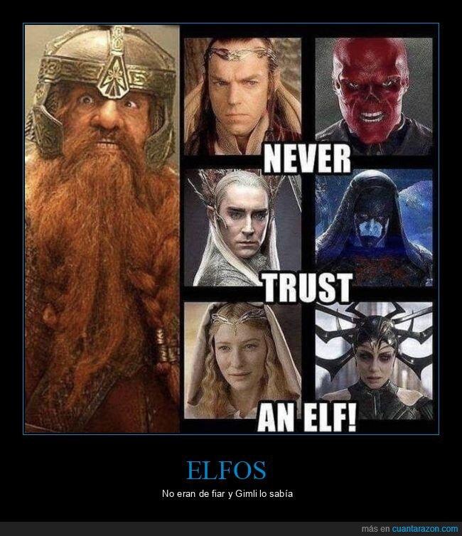 el señor de los anillos,elfos,gimli,marvel,villanos