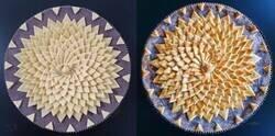 Enlace a Esta pastelera muestra fotos de antes y después de hornear sus pasteles con hojaldre