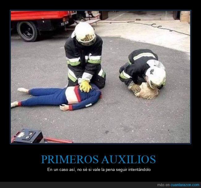 bomberos,cabeza,maniquí,primeros auxilios