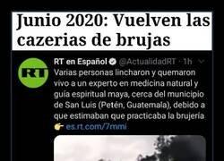 Enlace a Las cacerías de brujas no podían faltar en este 2020