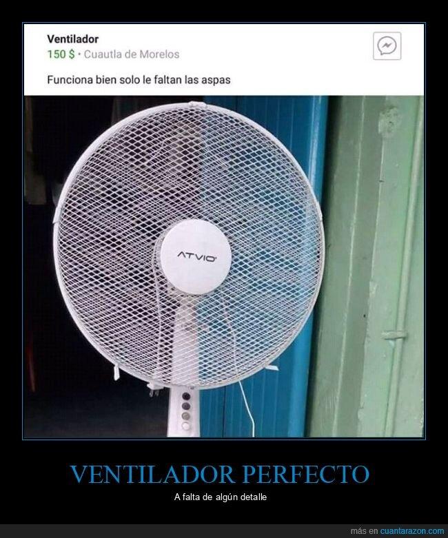 anuncio,aspas,ventilador