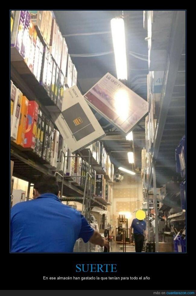 almacén,casi,televisiones,wtf