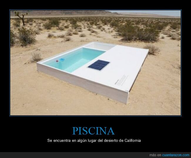 california,desierto,piscina