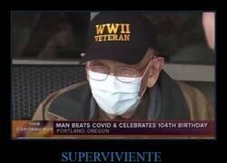 Enlace a 104 años y nada puede con él