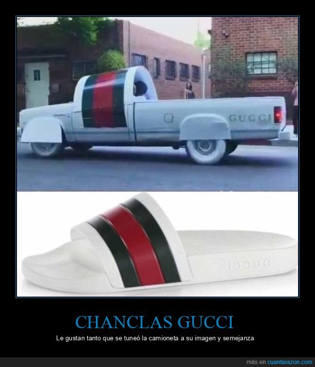 camioneta,chanclas,gucci,tuning