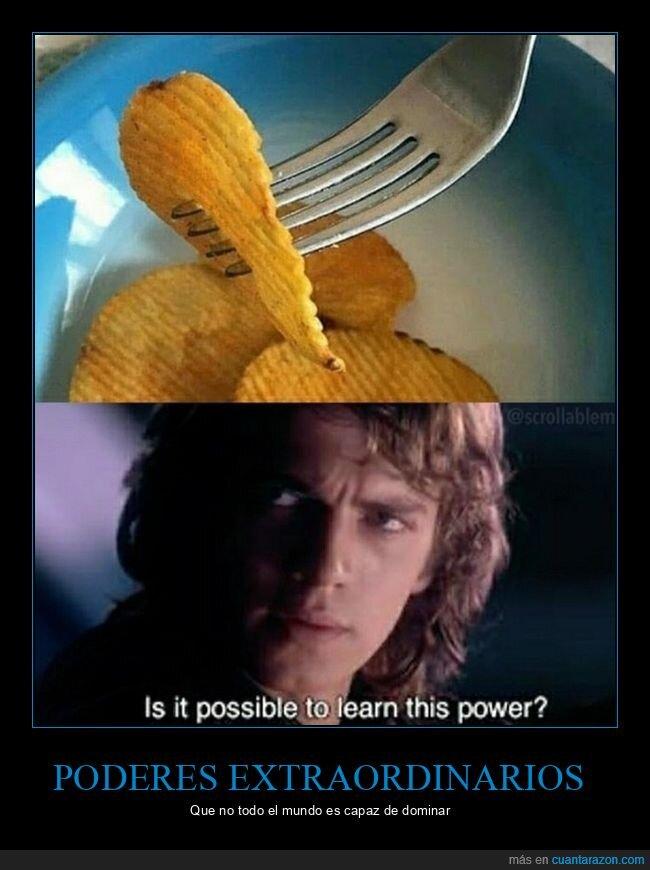 patatas,tenedor,wtf