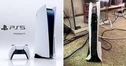 Enlace a Sony presentó al fin el diseño oficial de su PS5 y los fans lo recibieron con memes