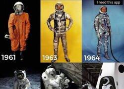 Enlace a Trajes espaciales desde los 60 hasta nuestros días