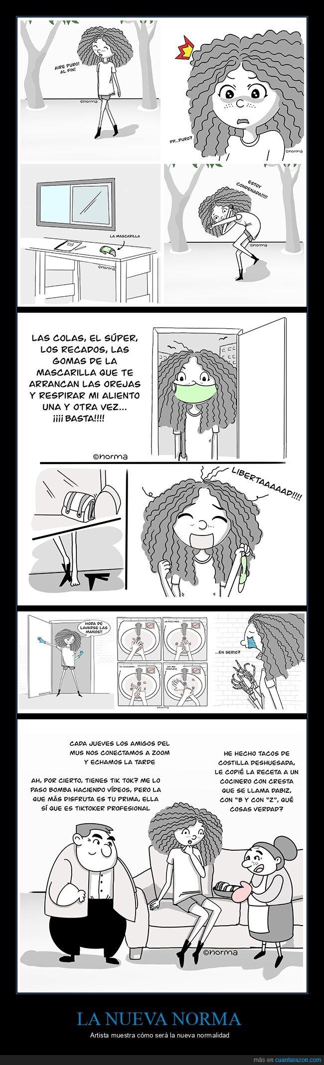 cómics,coronavirus,nueva normalidad