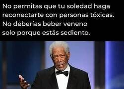 Enlace a Consejo de Morgan Freeman