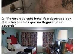 Enlace a Personas que se arrepintieron de pagar su estancia en un hotel