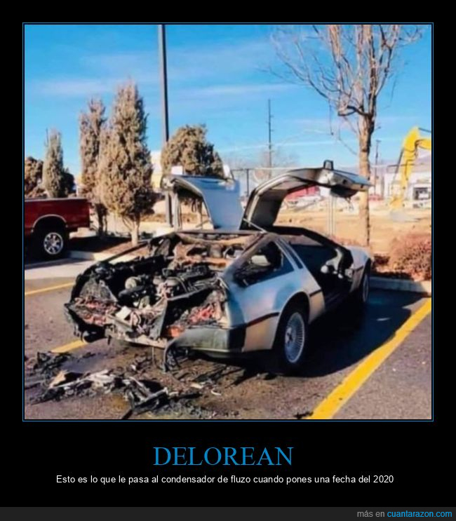 2020,delorean,regreso al futuro,wtf