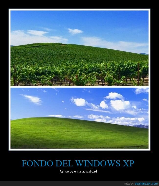 ahora,antes,fondo de pantalla,windows xp