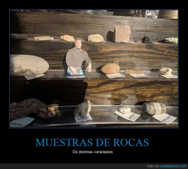 muestras,rocas,the rock