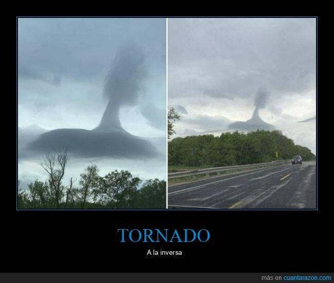 invertido,nubes,tornado,wtf