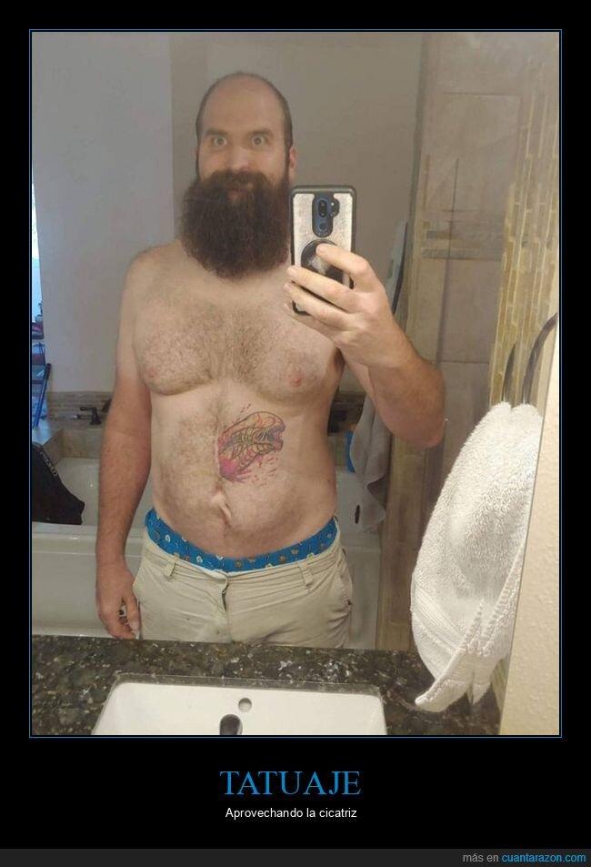 alien,cicatriz,tatuaje