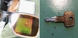 Enlace a Fotos que muestran el gran desgaste que causa el tiempo