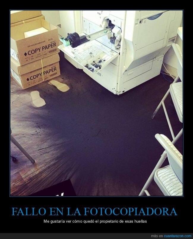 fails,fotocopiadora,huellas,tinta