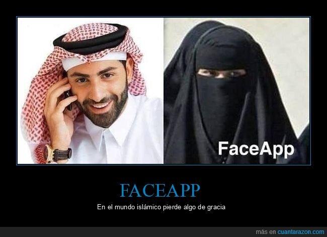 árabe,burka,faceapp,género