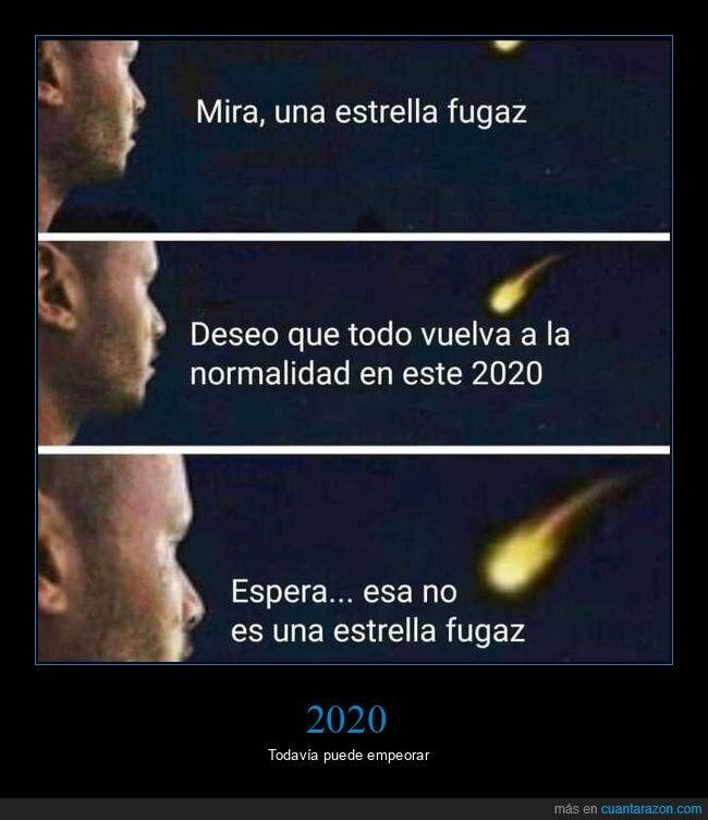 2020,estrella fugaz,meteorito