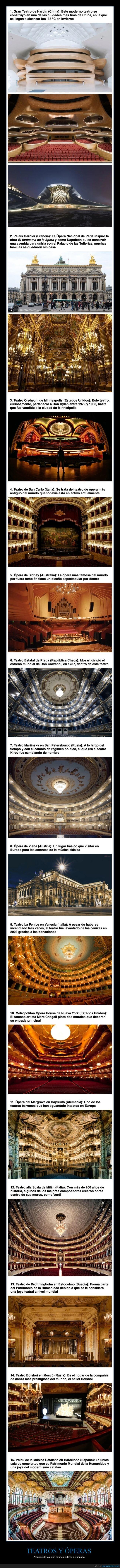 curiosidades,óperas,teatros