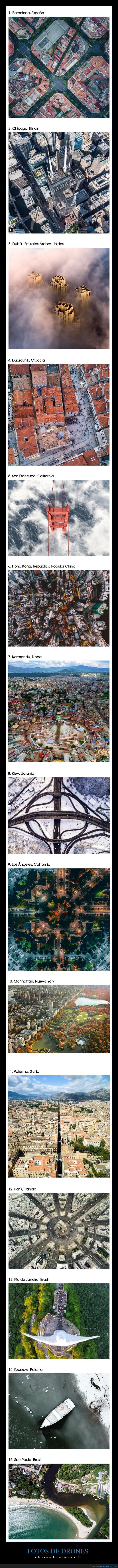ciudades,drones,fotografías,lugares