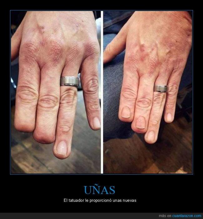 tatuajes,uñas