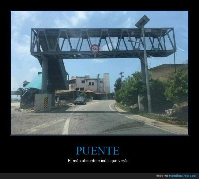 inútil,puente,wtf