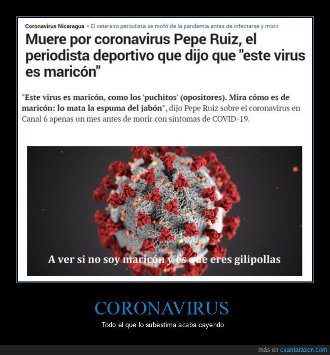 coronavirus,muerte,periodista,virus