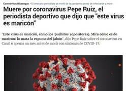 Enlace a Nadie de ríe del coronavirus y sale impune