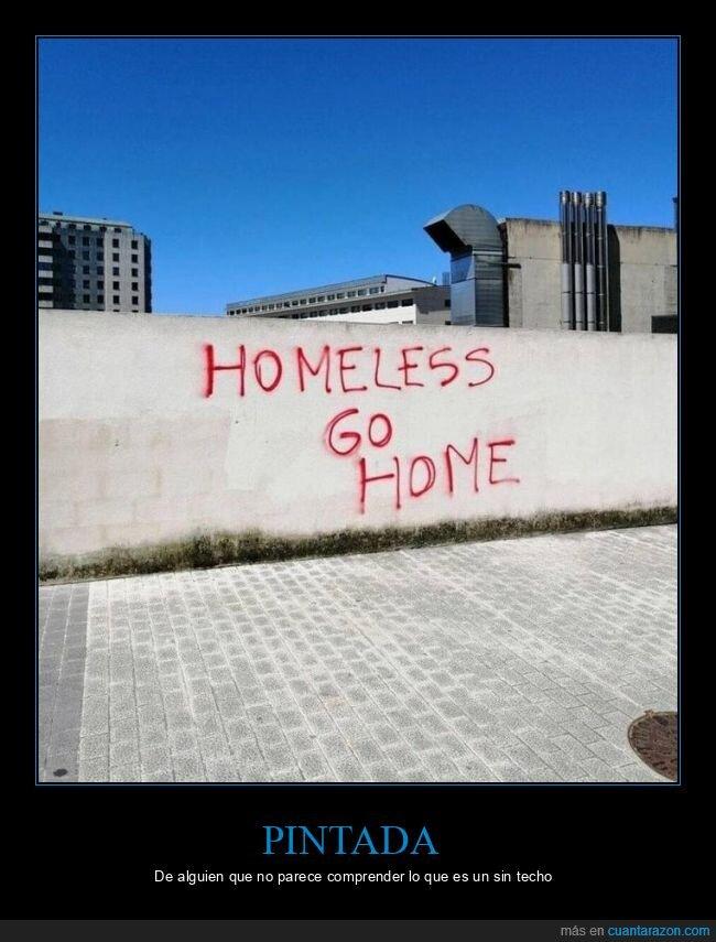 casa,pintada,sin hogar,sin techo