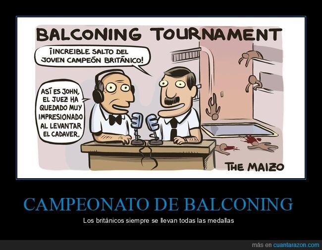 balconing,campeonato,ingleses