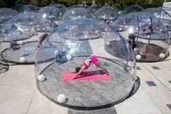 Enlace a Yoga en burbuja