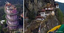 Enlace a Templos extraños a lo largo del mundo que tienen algo mágico