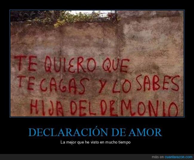 amor,declaración,pintada
