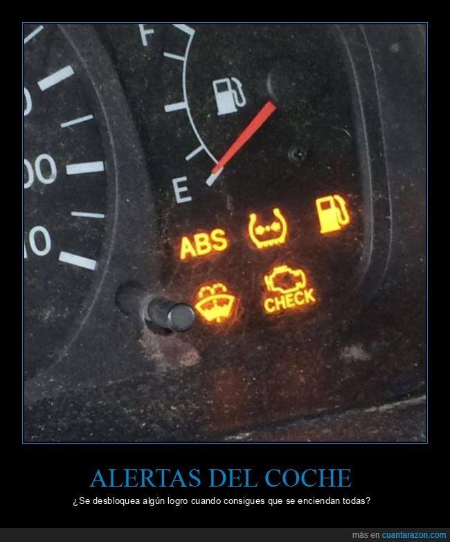 alertas,coche,luces