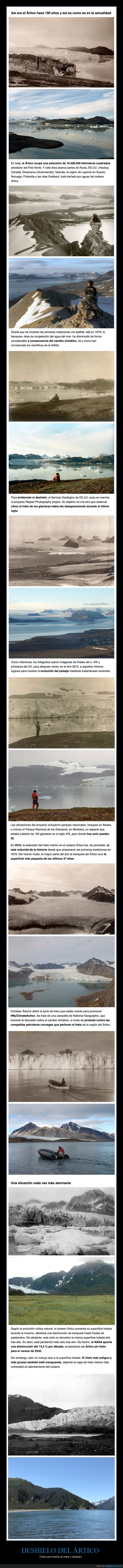 antes,ártico,deshielo,después