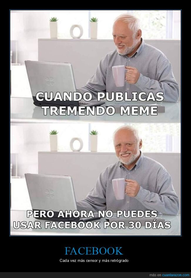 bloquear,facebook,hide the pain harold