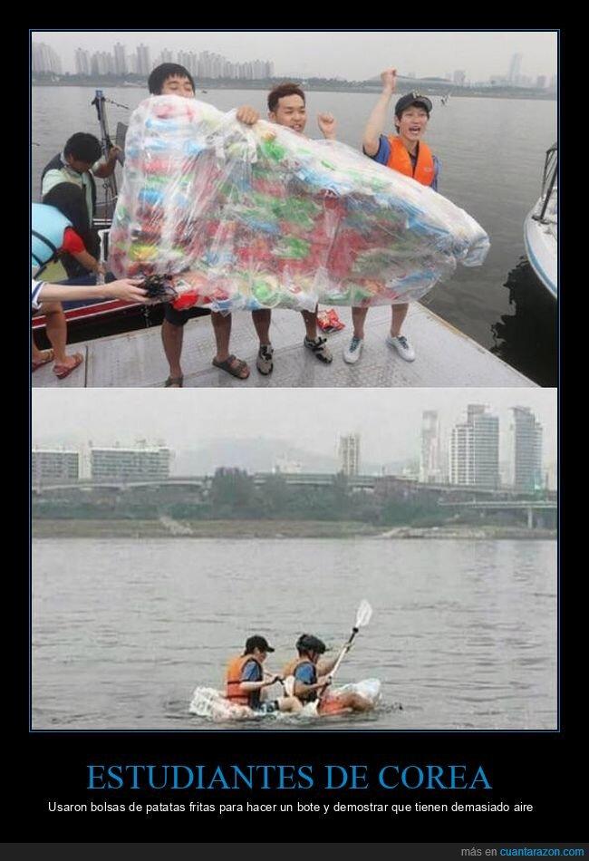 aire,bolsas,bote,patatas fritas